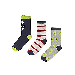 Outfit Kids - 3 pack boys' navy socks