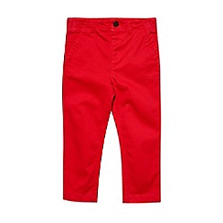 Outfit Kids - Boys' red chino trousers