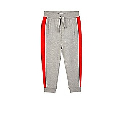 Outfit Kids - Boys' grey skinny panelled joggers