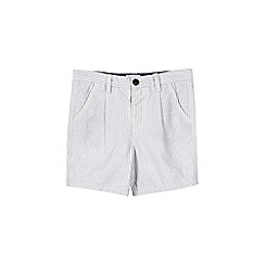 Outfit Kids - Boys' blue striped shorts