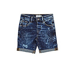 Outfit Kids - Boys' dark wash denim shorts