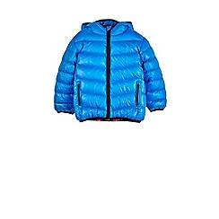 Outfit Kids - Boys' blue bubble jacket