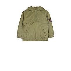 Outfit Kids - Boys' khaki zip-through jacket