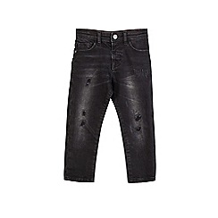 Outfit Kids - Boys' washed black relaxed jeans