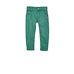 Outfit Kids - Boys' green twill jeans