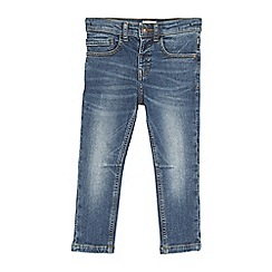 Outfit Kids - Boys' blue mid wash skinny fit jeans