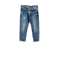 Outfit Kids - Boys' blue ripped relaxed jeans