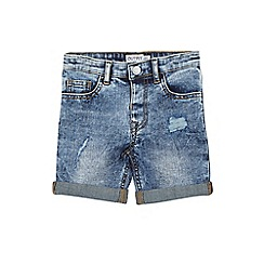 Outfit Kids - Boys' Mid Blue Denim Shorts