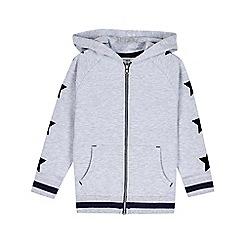 Outfit Kids - Boys' Grey Star Zip Through Hoodie