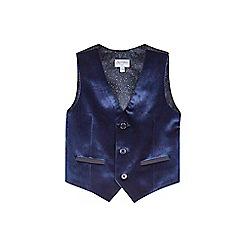 Outfit Kids - Boys' Navy Velvet Waistcoat