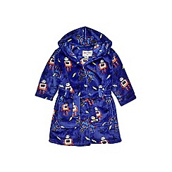 Outfit Kids - Boys' blue robot dressing gown