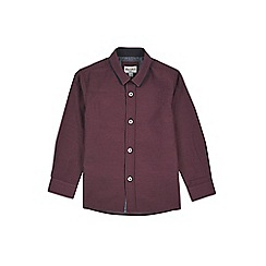 Outfit Kids - Boys' red smart double collar shirt