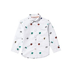 Outfit Kids - Boys' white long sleeve comic print shirt
