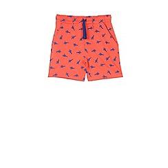 Outfit Kids - Boys' orange palm tree shorts
