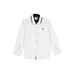 Outfit Kids - Boys' white long sleeve shirt