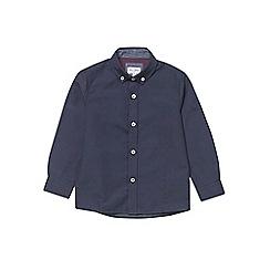 Outfit Kids - Boys' navy textured shirt