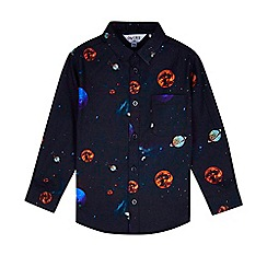 Outfit Kids - Boys' navy space shirt