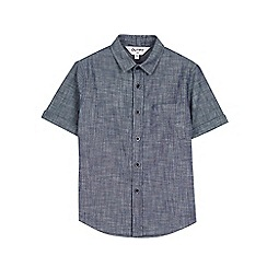 Outfit Kids - Boys' blue chambray shirt