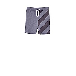 Outfit Kids - Boys' blue striped jersey shorts