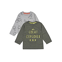 Outfit Kids - 2 pack boys' assorted long sleeve t-shirts