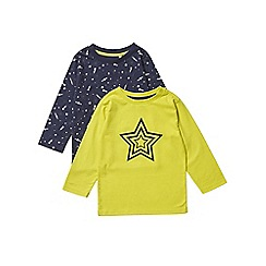 Outfit Kids - 2 pack boys' yellow star t-shirts