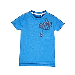 Outfit Kids - Boys' blue octopus pocket t-shirt