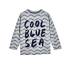 Outfit Kids - Boys' grey 'cool blue sea' t-shirt