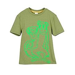 Outfit Kids - Boys' khaki monkey t-shirt