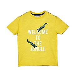 Outfit Kids - Boys' yellow jungle t-shirt