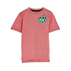 Outfit Kids - Boys' red cactus pocket T-shirts