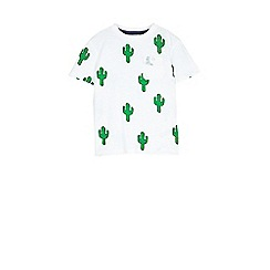 Outfit Kids - Boys' white cactus t-shirt