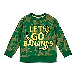 Outfit Kids - Boys'  'lets go banana' slogan sweat top