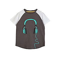 Outfit Kids - 2 pack boys' grey headphone t-shirt