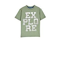 Outfit Kids - Boys' khaki explorer t-shirt