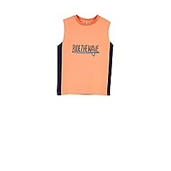 Outfit Kids - Boys' orange ride the wave vest