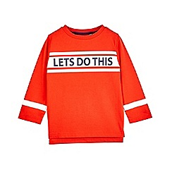 Outfit Kids - Boys' red 'lets do this' t-shirt