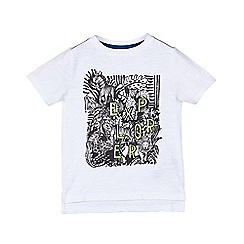 Outfit Kids - Boys' white explorer t-shirt