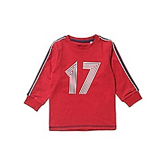 Outfit Kids - Boys' red '17' long sleeve t-shirt