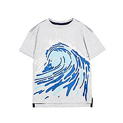 Outfit Kids - Boys' Grey Wave T-Shirt