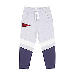 Outfit Kids - Boys' grey chevron panel joggers