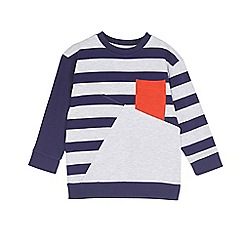 Outfit Kids - Boys' grey block red pocket sweat top