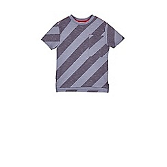 Outfit Kids - Boys' blue striped t-shirt