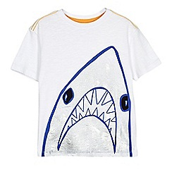Outfit Kids - Boys' white shark t-shirt