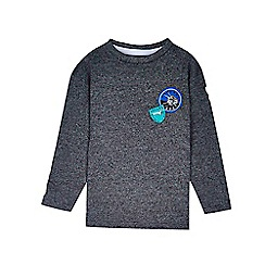 Outfit Kids - Boys' grey long sleeve space cadet t-shirt