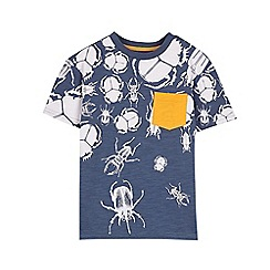 Outfit Kids - Boys' navy bug print t-shirt