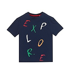 Outfit Kids - Boys' Navy Explore T-Shirt