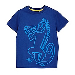Outfit Kids - Boys' blue iguana t-shirt