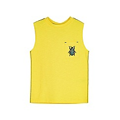 Outfit Kids - Boys' yellow beetle vest