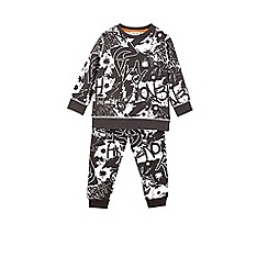 Outfit Kids - Boys' black graffiti tracksuit