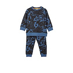 Outfit Kids - Boys' navy graffiti tracksuit